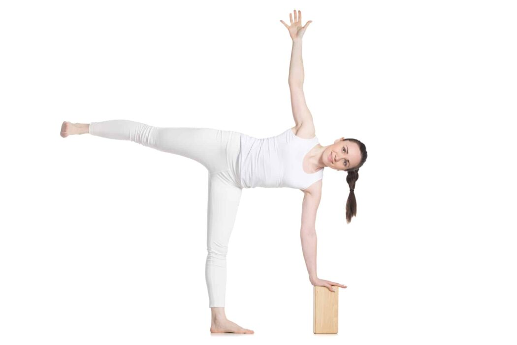 Half Moon Posture (Supported)